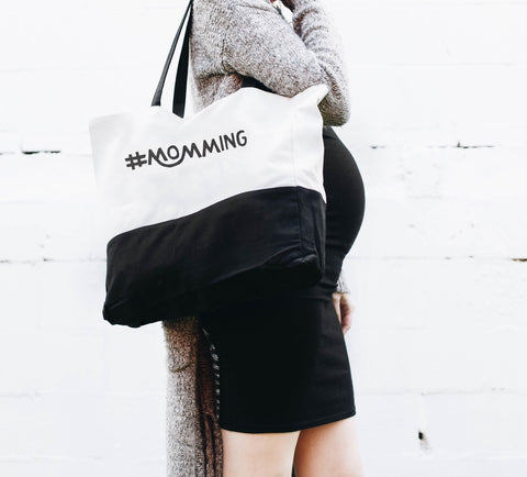 #Momming™ Oversized Tote Canvas - Shop Kindred Together