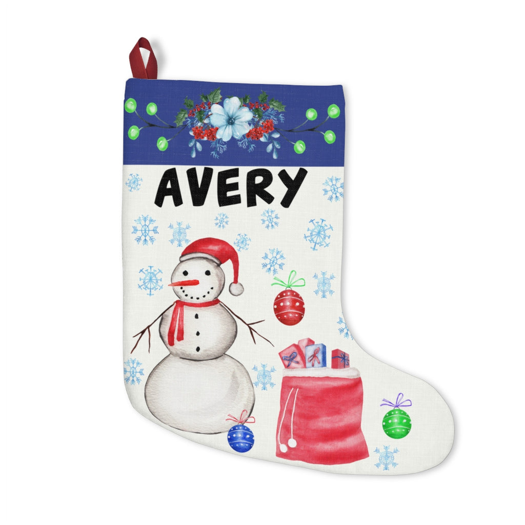 Snowman Stocking - Shop Kindred Together