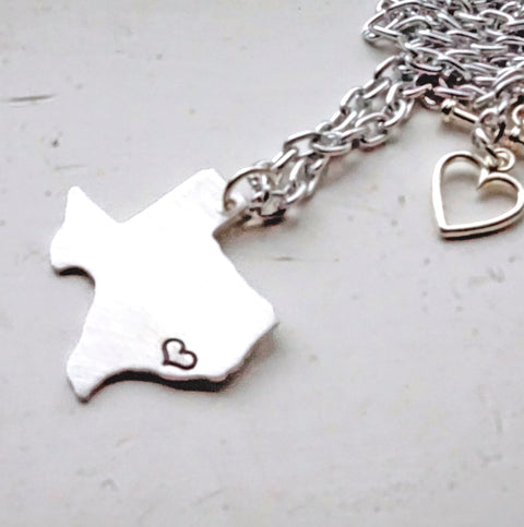 Love My State Necklace - Shop Kindred Together