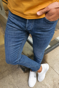 Oakland Mustard  Slim Fit Classic Jeans
