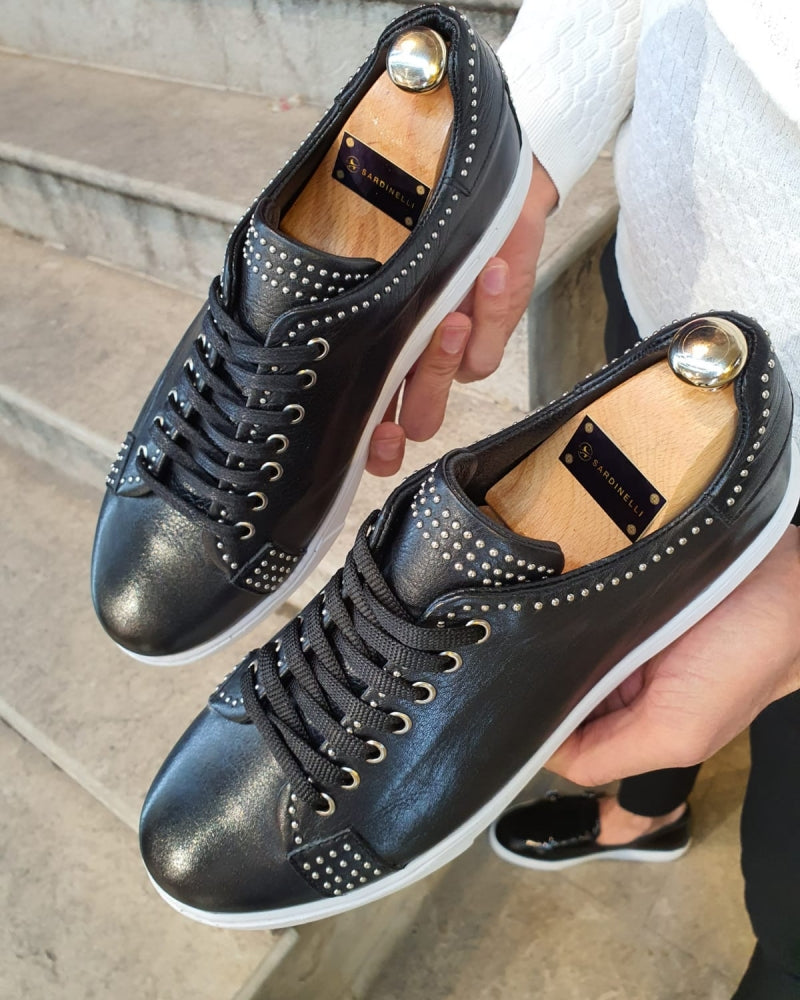 Annapolis Original Black Lace-Up Sneakers