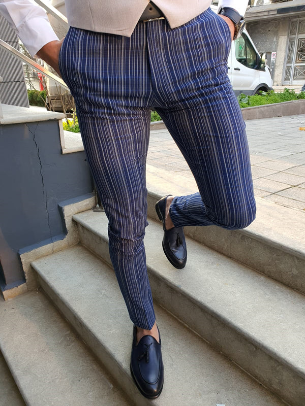 Forenza Sax Slim Fit Pinstripe Pants