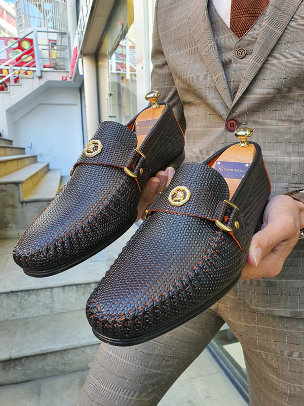 Rosario Clifton Brown Buckle Loafer