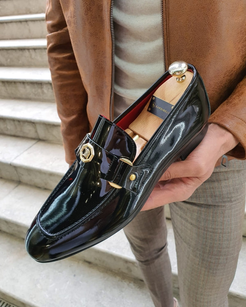 Lance Fort Worth Black Classic Loafer