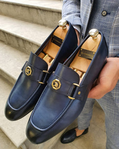 Lance Fort Worth Navy Blue Loafer