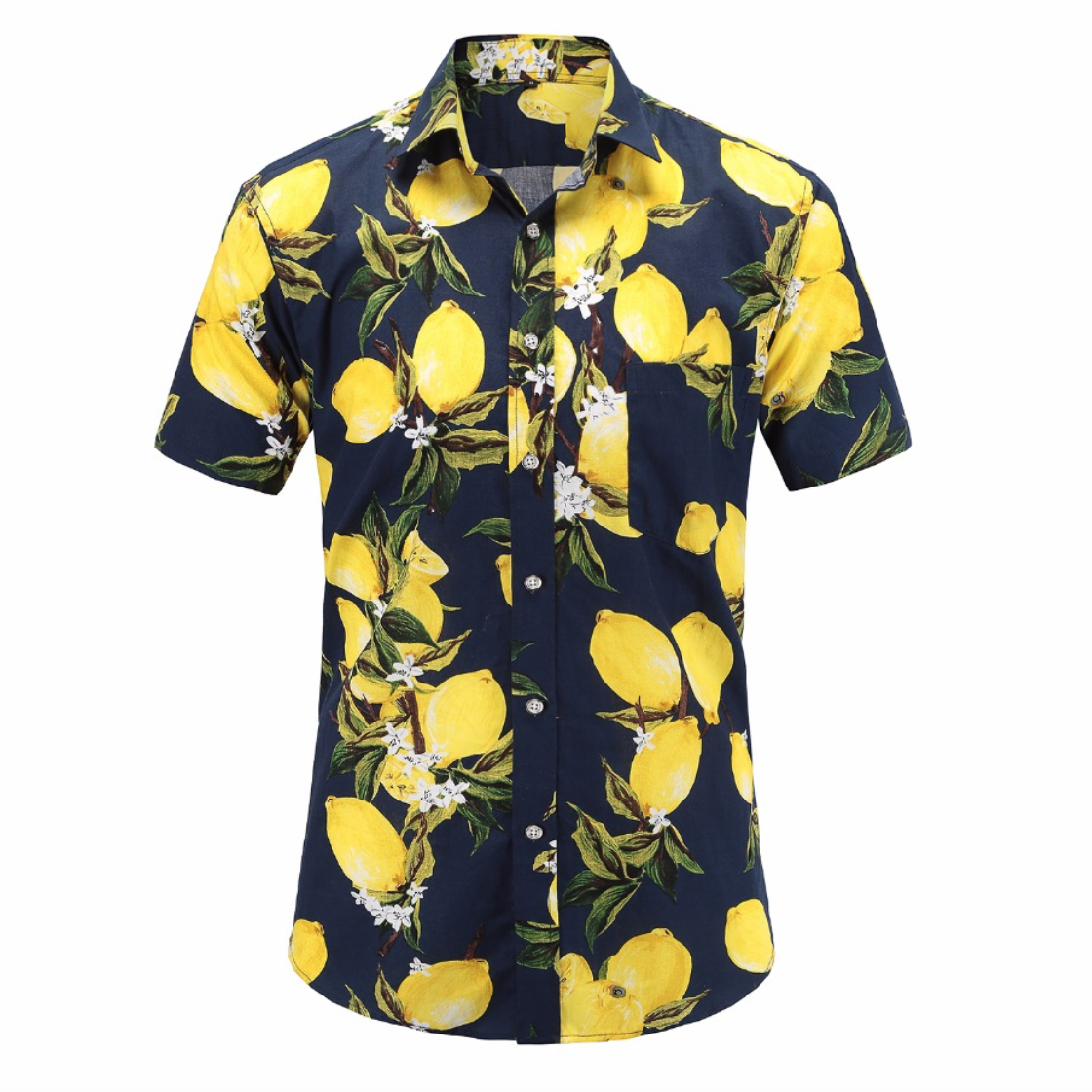 Aloha Summer Printed Short-Sleeved Shirt (3 Colors)