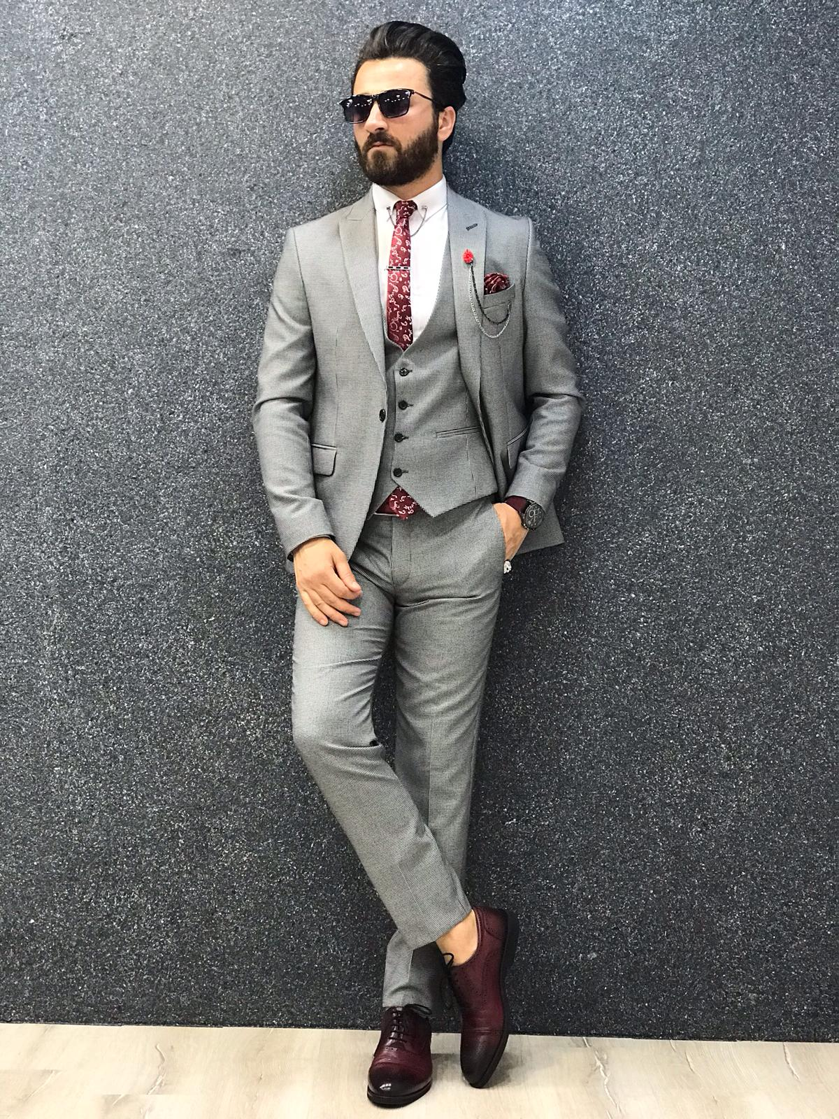 Bossi Slim-Fit Gray