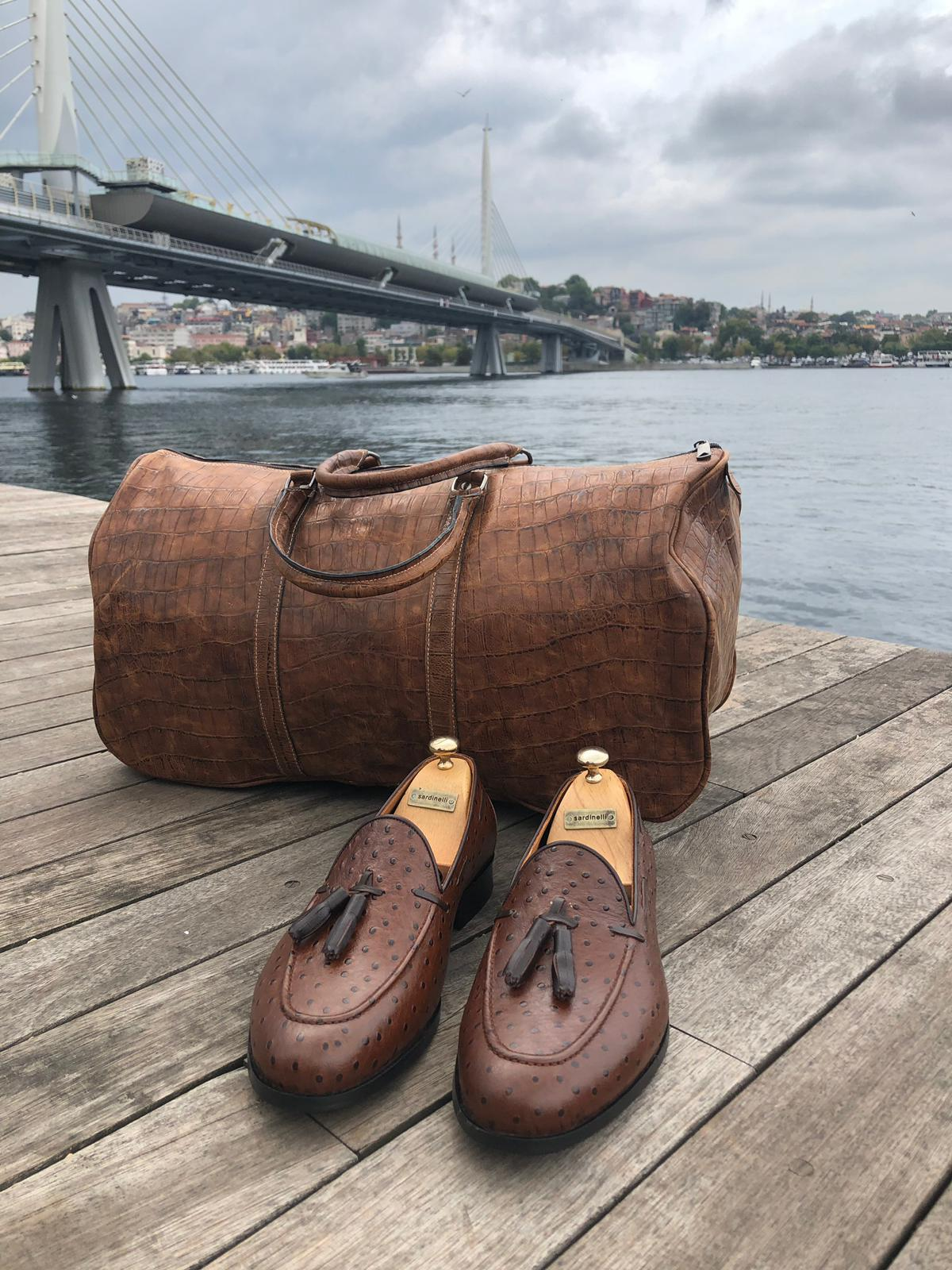 SARDINELLI LIMITED BROWN LOAFERS II