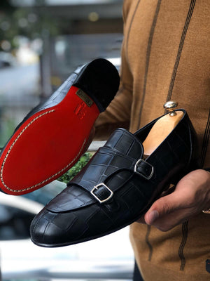 SARDINELLI LIMITED BLACK LOAFERS