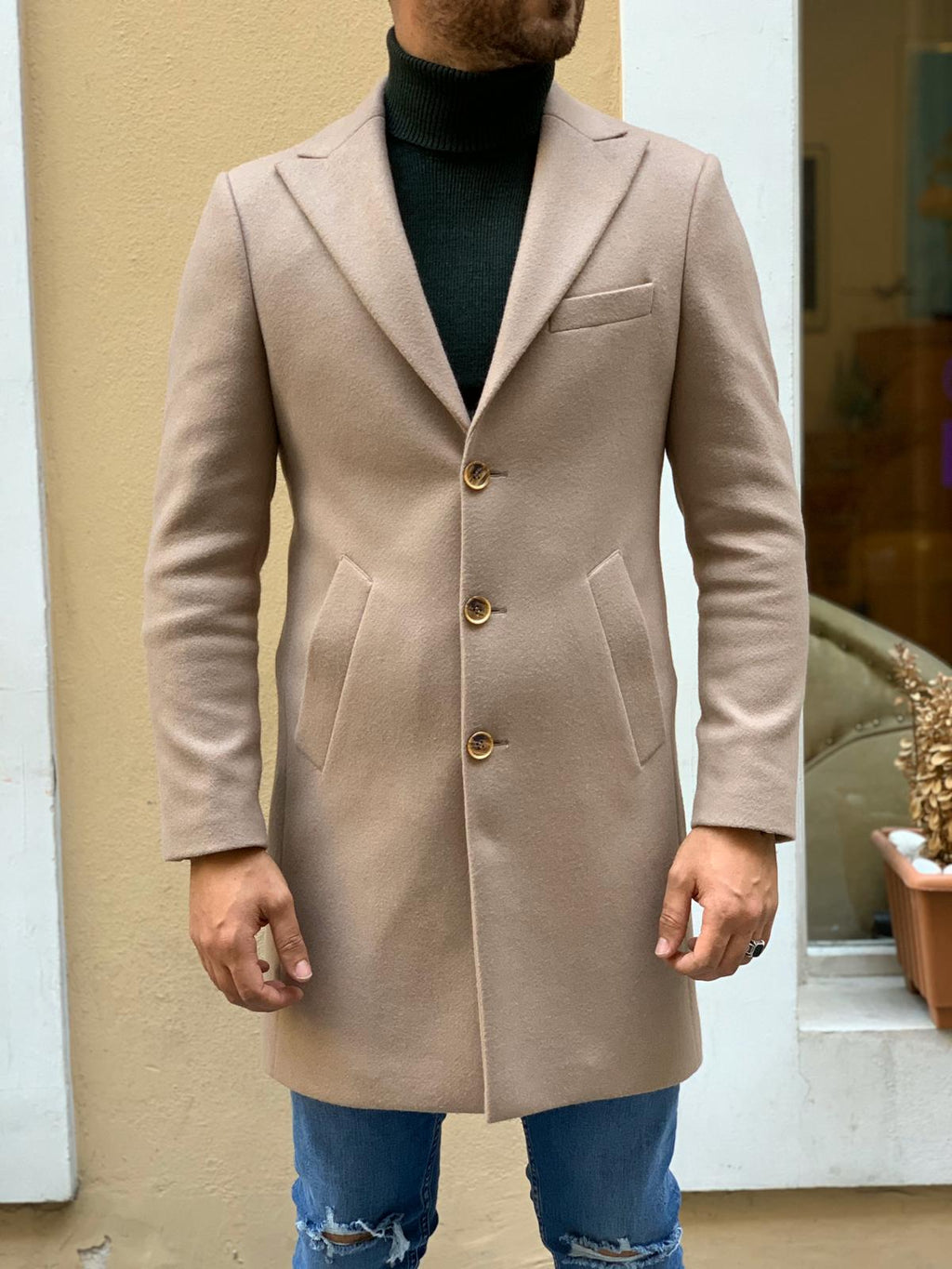 Carlos Slim Fit Coat (12 types)