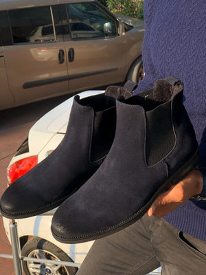 Suade Leather Classic Chelsea boots