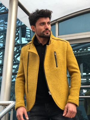 Bernard Wool Yellow Jacket