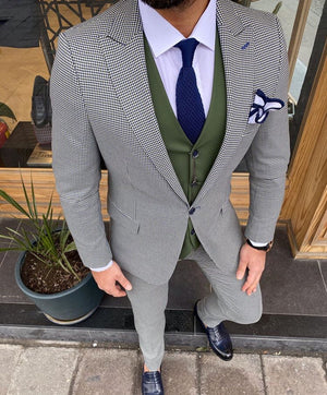Marc Green Slim-Fit Suit
