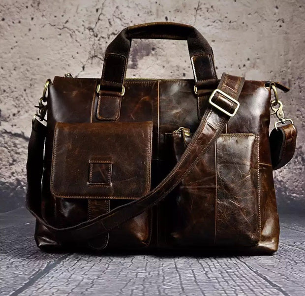 Martin Leather Briefcase