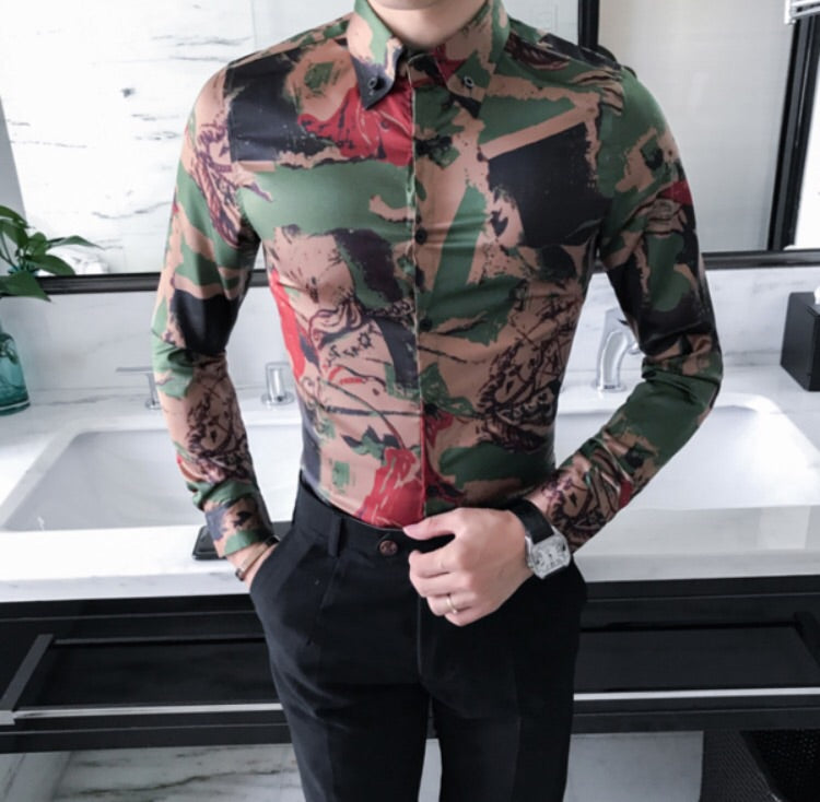 Camouflage Trendy Shirt