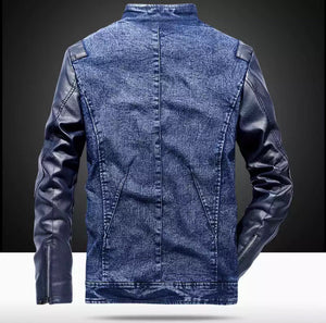 Adam Denim Leather Jacket (2 Colors)