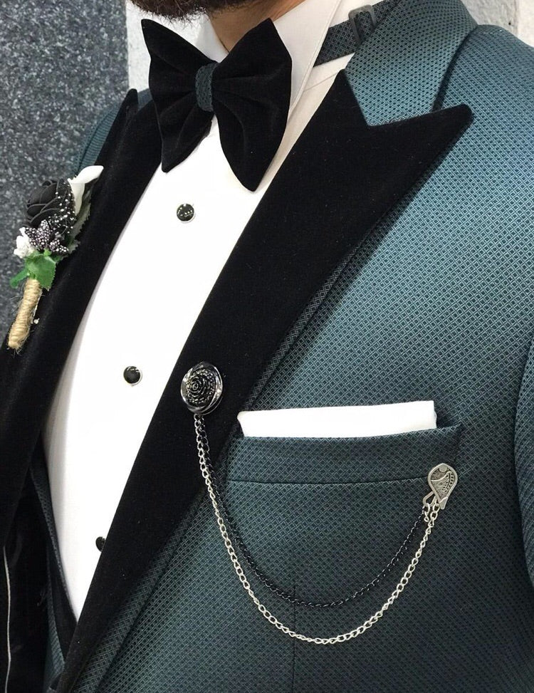 Royal Green Slim Fit Tuxedo