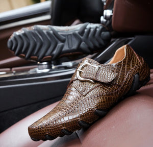 Luxury Eagle Loafers (2 colors)