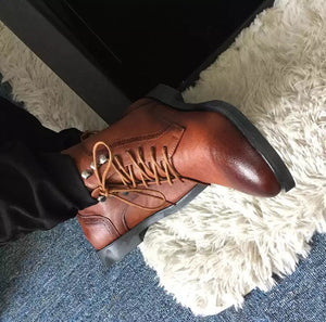 Classic Leather Boots (2 Colors)