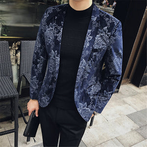 Floral Printed Blazers (2 Colors)