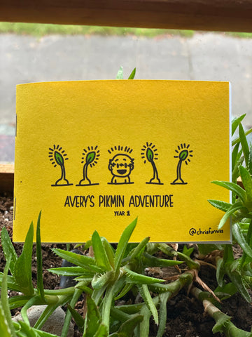 Avery's Pikmin Adventure Zine - Year 1