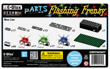 E-Blox pARTS™ Flashing Frenzy - Stickybricky