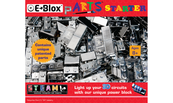 E-Blox pARTS™ Starter Set - Stickybricky