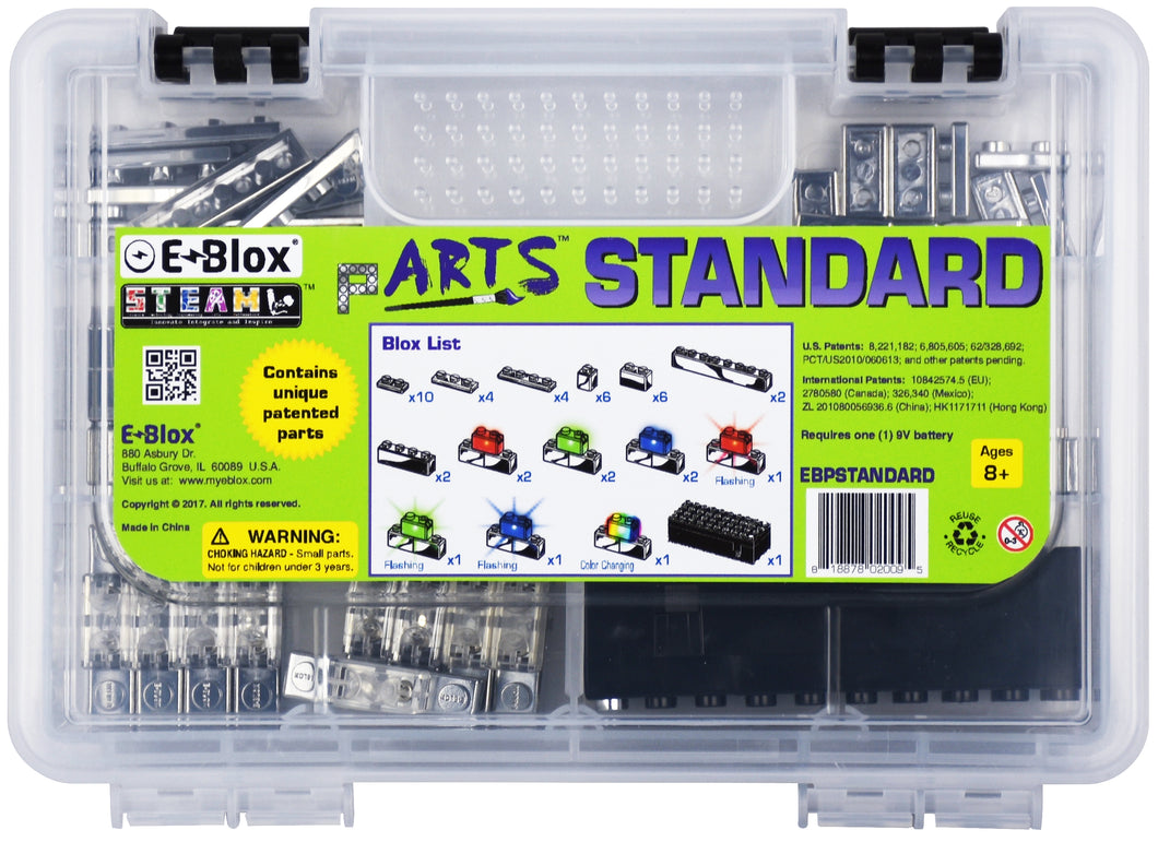 E-Blox pARTS™ Standard Set - Stickybricky