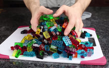 Lego®-compatible Building Brick Shaped Ice Cube Tray - Stickybricky