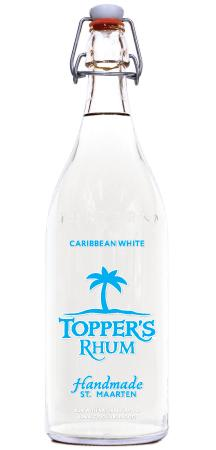 TOPPERS RHUM CARIBBEAN WHITE 1 Liter - Your Wine Cellars