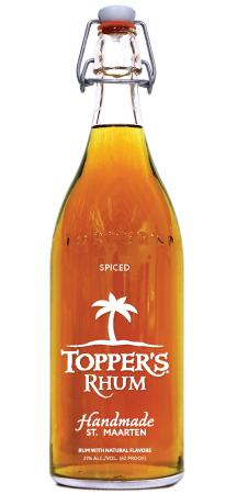 TOPPERS RHUM SPICED 1 Liter - Your Wine Cellars