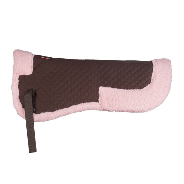 Horze Fur Half Pad (several colours available) - Horse & Hound Tack Shop & Pet Supply