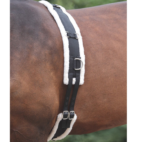 Shires Lunging Surcingle with Fleece Padding - Horse & Hound Tack Shop & Pet Supply