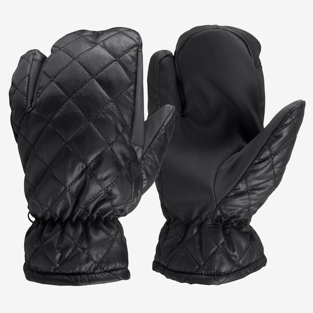 Horze Three Finger Mittens - Quilted - Horse & Hound Tack Shop & Pet Supply