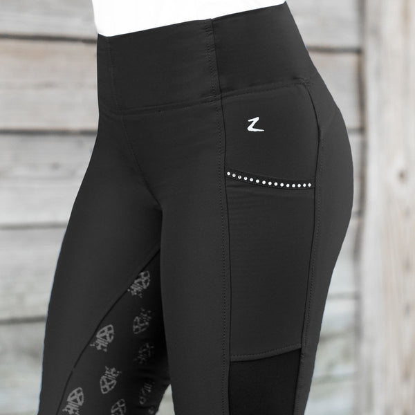 Horze Leah Women's UV Pro Riding Tights - Horse & Hound Tack Shop & Pet Supply