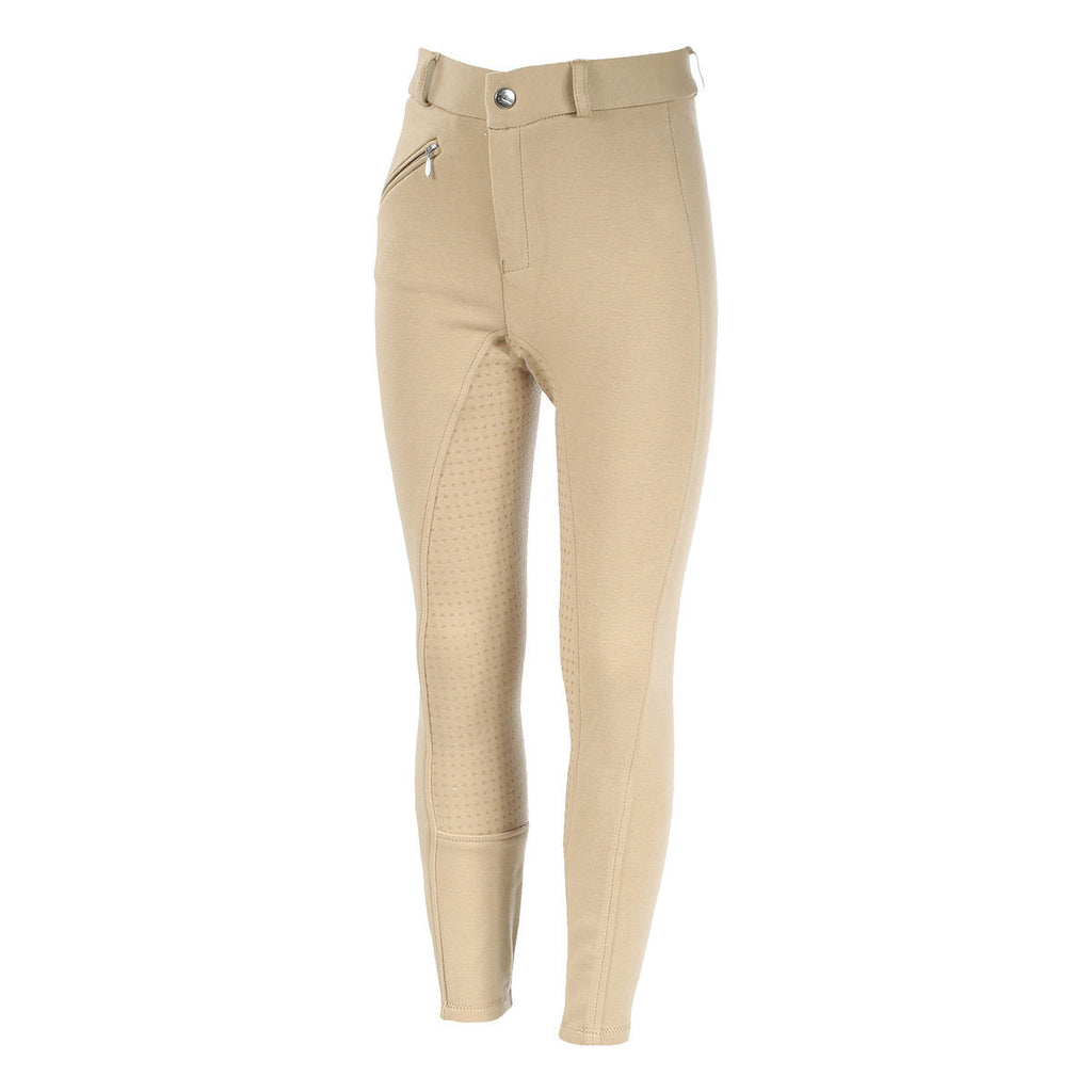 Horze Junior Active Silicone Grip Full Seat Breeches- Multiple Colours! - Horse & Hound Tack Shop & Pet Supply