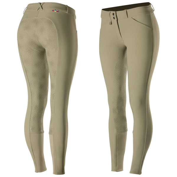 Horze Grand Prix Women & Junior Silicone Grip Full Seat Breeches