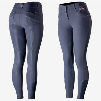 B Vertigo Olivia Silicone Full Seat Breeches - Horse & Hound Tack Shop & Pet Supply