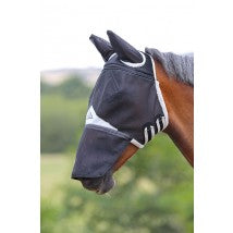 Full Face Fly Mask -  Detachable Nose