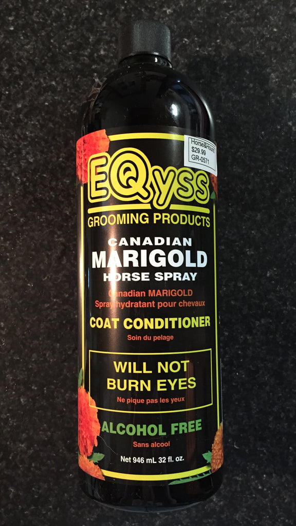 Eqyss Canadian Marigold Horse Spray - Horse & Hound Tack Shop & Pet Supply