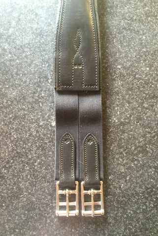 Horse & Hound Custom Overlay Girth Black - Horse & Hound Tack Shop & Pet Supply
