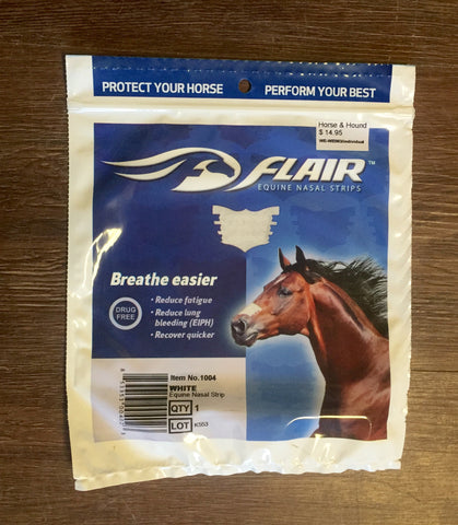 Flair Equine Nasal Strips - Horse & Hound Tack Shop & Pet Supply