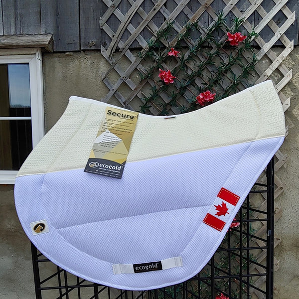 Ecogold Secure Cross Country Pad - CDN Flag - Horse & Hound Tack Shop & Pet Supply