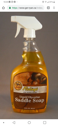 Fiebings Liquid Glycerine Saddle Soap - Horse & Hound Tack Shop & Pet Supply