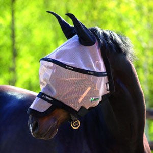 Horseware Rambo Plus Fly Mask - Horse & Hound Tack Shop & Pet Supply