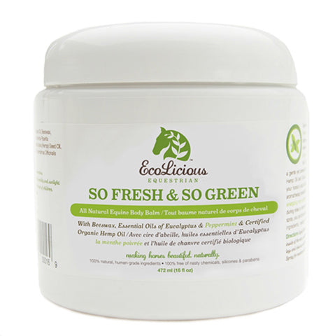 Ecolicious So Fresh & So Green All Natural Body Balm - Horse & Hound Tack Shop & Pet Supply