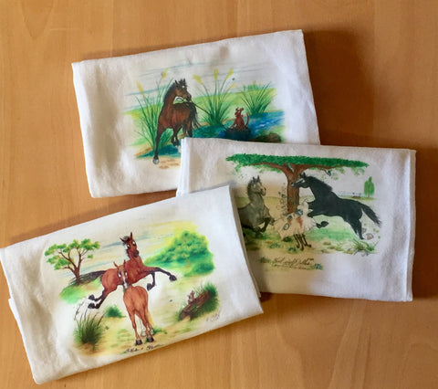 Linen Tea Towels - Horse & Hound Tack Shop & Pet Supply
