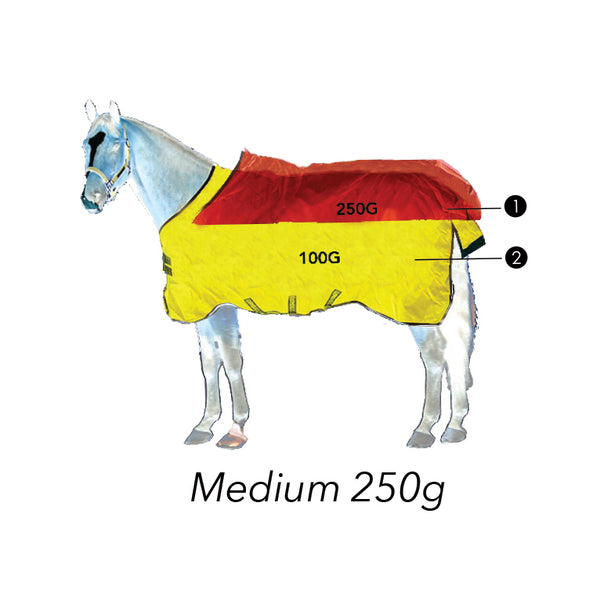 Rambo® Wug with Vari-Layer (250g Medium) - Horse & Hound Tack Shop & Pet Supply