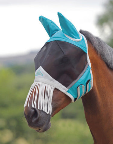 Shires Fly Mask with Fringe - Horse & Hound Tack Shop & Pet Supply