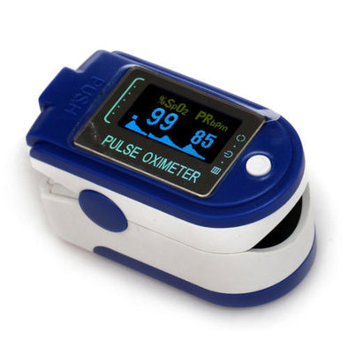 Finger Pulse Oximeter Heart Rate SPO2 Blood Oxygen Meter Monitor